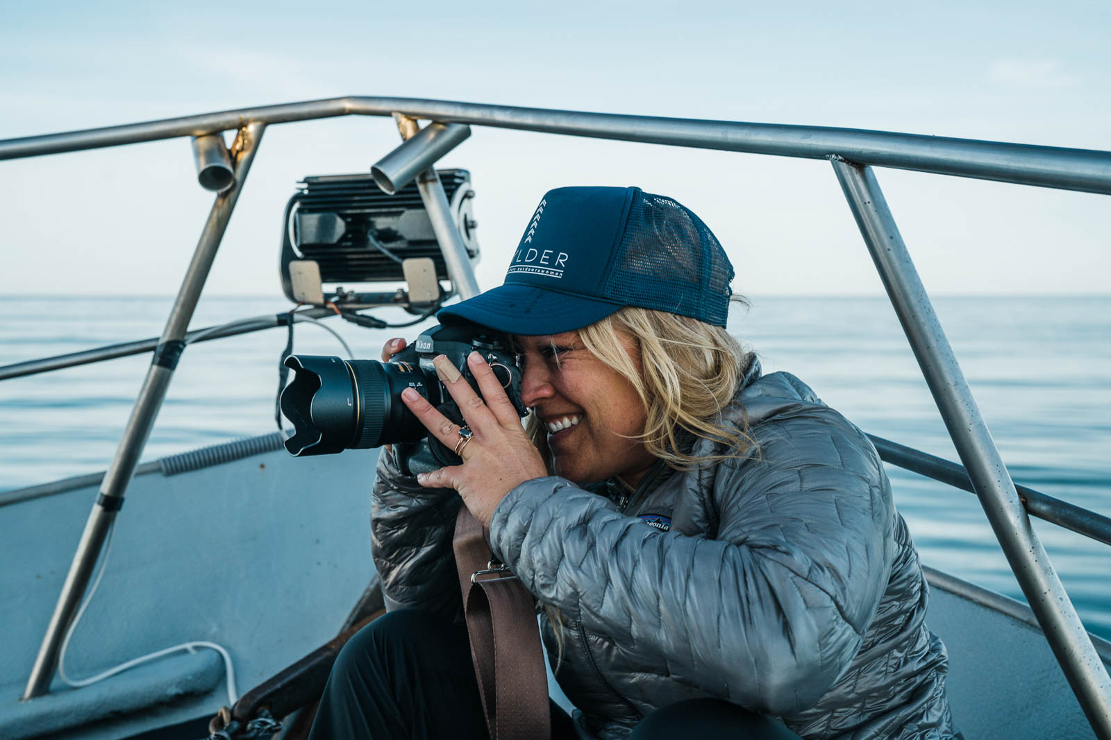 Dawn Heumann, Photographer Alaska BTS